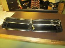 NEW Front Outside pair lh rh Door Handle Black Fits 88 -94 Chevrolet GMC Truck