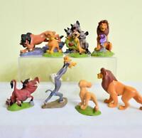 9pcs Disney Movie The Lion King Simba Cake Toppers Figure Doll Kids Boy Girl