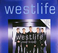 WESTLIFE 2000 COAST TO COAST SWEDISH PROMO POSTER