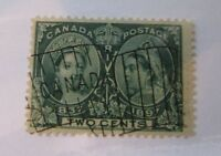 1897 Canada SC #52  FLAG CANCEL  Used Fine stamp