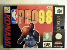 Konami: NBA Pro 98 für 1-4 Spieler für Nintendo 64, NEU & ungeöffnet