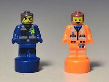 Lego The Lego Movie 2 Emmet and Rex Minifigures Microfigures 70839