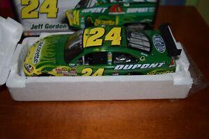 RARE GM DEALERS  2007 Jeff Gordon #24 Green NICORETTE 1/24 COT 1 of 876