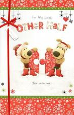 Boofle To My Other Half Christmas Greeting Card Special Xmas Cards