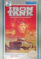 IRON TANK ORIGINAL NINTENDO GAME ORIGINAL SYSTEM NES HQ