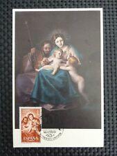 Spain MK 1959 Madonna maximum carta carte MAXIMUM CARD MC cm c1756