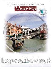 VENEZIA - Music Card - Card + Cd Audio + Busta Foglio da scrivere