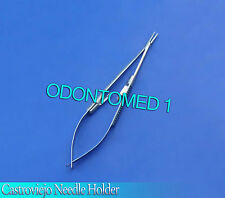 Castroviejo Needle Holder Surgical Dental Serreted 5.50