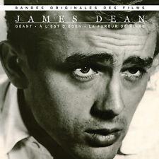 CD James Dean : A l'est d'Eden, La Fureur de vivre, Géant