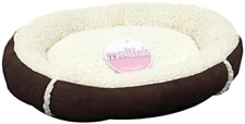 Petface Mollie's Luxury Faux Suede Donut Cat Bed