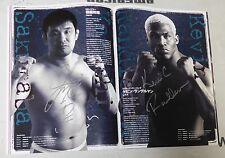 Kazushi Sakuraba Fedor Emelianenko + Signed Pride GP Final 2003 Program PSA/DNA
