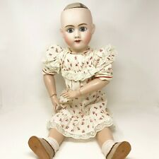 "Antique Heinrich Handwerck Doll with Simon & Halbig Head 28"" Tall"