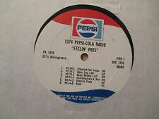 "PEPSI-COLA RADIO 1974/ MONAURAL ""Join The Pepsi People Feelin' Free"""