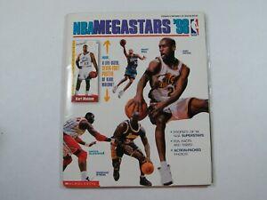 NBA MEGASTARS 1998 WITH UNOPENED KARL MALONE POSTER
