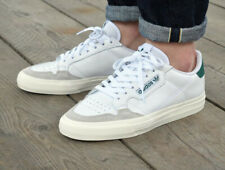 Adidas Originals Mens Continental Vulc Shoes Leather White/Green EF3534 UK 13