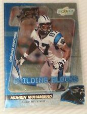 2000 Score Building Blocks Carolina Panthers Football Card #BB30 Muhsin Muhammad