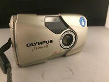 Olympus Mju II 35mm 2.8 Point & Shoot Film Camera