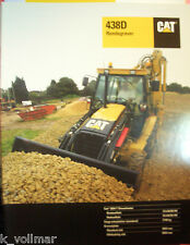 ✪altes original Prospekt /Info sales Brochure CAT Caterpillar 438 D Rendegraver
