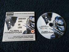 Rare Promo, ALIEN Vs PREDATOR - Ultimate Gaming Sampler, DVD ROM, PC Only, 2004