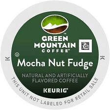 Green Mountain Coffee Roasters Mocha Nut Fudge   Coffee 24 k-cups/box