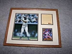 FRANK THOMAS CHICAGO WHITE SOX FRAMED LIMITED EDITION #7737 Lithograph 1993 MVP