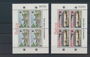 LO39977 Belize 1983 commonwealth day sheets MNH