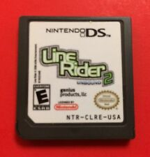 Line Rider 2: Unbound (Nintendo DS, 2008) Authentic Game Card Only