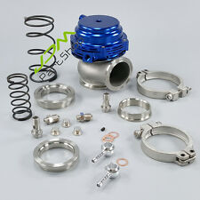 NEW blue 44mm MVR 44 V-Band External WATER COOLED Turbo Wastegate performance