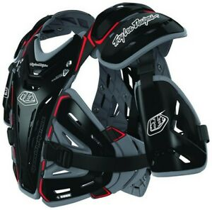 TROY LEE DESIGNS TLD SHOCK DOCTOR BG5955 CHEST PROTECTOR BLACK ADULT BODY ARMOUR
