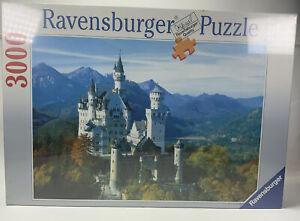 Ravensburger 3000 Piece Jigsaw Puzzle Neuschwanstein Castle In the Autumn 1992.