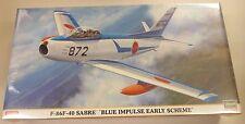 Hasegawa 1/48 F-86F-40 Sabre Blue Impulse Early Scheme