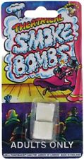 Pack of 2 Theatrical Smoke Bombs Practical Joke Prank Gag Adult Party Bags New