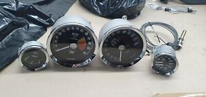 Set of Gauges for Austin Healey BJ8  RECONDITIONED