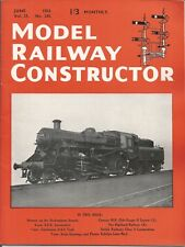 MODEL RAILWAY CONSTRUCTOR MAGAZINE - JUNE 1954