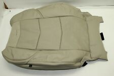 OEM 15-17 CADILLAC ESCALADE FRONT LEATHER Driver BUCKET SEAT Cover Shale Tan