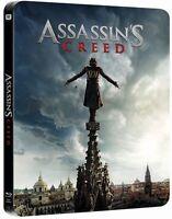 Assassins Creed Limited Edition Steelbook 3D + 2D Blu Ray (Region Free)