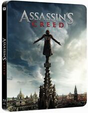 Assassins Creed Limited Edition Steelbook 3D + 2D Blu Ray (Region Free)