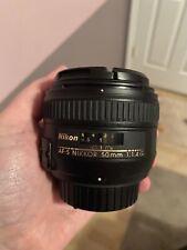 Nikkor 50mm 1.4 AF-S Lens
