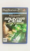 Playstation 2 PS2 - Tom Clancys Splinter Cell Chaos Theory - Complete Free Post