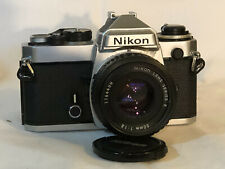 Nikon FE SLR Camera with 3 Lenses - Great Working Condition