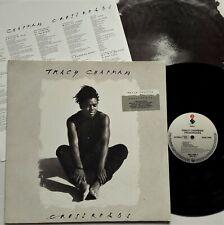 Tracy Chapman - Crossroads LP 1989 1st Europe Press Elektra Lyric Inner + Insert