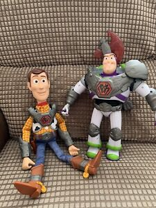 Disney Toy Story That Time Forgot Battlesaurus Talking Buzz Lightyear & Woody