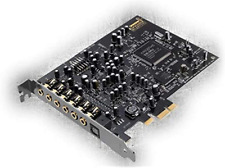 Creative Sound Blaster Audigy PCIe RX 7.1 Sound Card with High Performance Headp