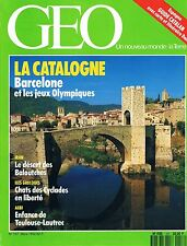 geo - N°157 - mars 1992 - Catalognes Chats des Cyclades Botswana Toulouse lautre