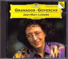 Jean-Marc LUISADA: GRANADOS Goyescas DG CD Los Requiebros El amor y la muerte