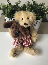 Settler Vintage Bears Benjamin and His Puppy Settler Melbourne Teddy Bear 32cmT