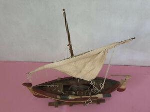 Modellschiff Segelschiff Holz - XXL sehr schönes Deko Schiff Ab 1 Euro