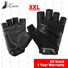New Sports Racing Cycling Motorcycle MTB Bike Bicycle Gel Half Finger Gloves XXL