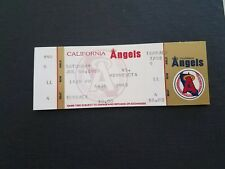 1989 full Angels v. Minnesota baseball ticket