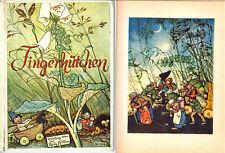 Meyer Fingerhütchen Elfe Fee Else Wenz-Vietor Jos. Scholz Mainz Bilderbuch 1939